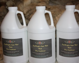 Wholesale 3 pack Wool Wash plus Conditioner // DunWright's Profesional Strengh Wool Wash plus Conditioner