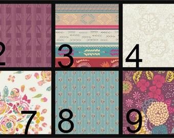 Crib Blanket, Crib Bedding, Crib Quilt, Baby Bedding, Stripe Baby Quilt, Stripe Baby Blanket, Purple, aqua, pink