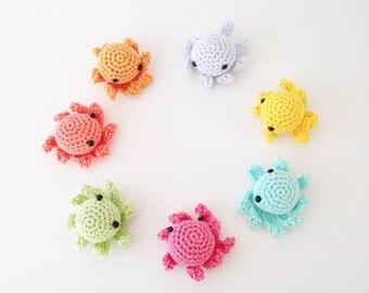 Crochet Octopus - Set of 7