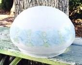 Vintage Glass Ceiling Globe