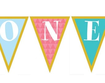 it's a small world birthday party - printable age banner