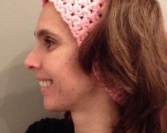 Bricks Ear Muff Ear Warmer Headband Crochet Made to Order