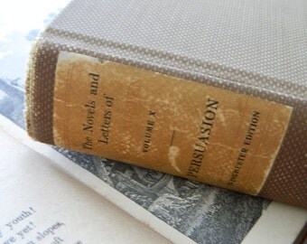 Persuasion by Jane Austen. Rare illustrated edition from 1913.
