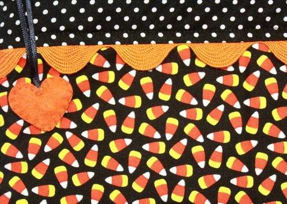 Glow In The Dark Candy Corn Cross Stitch Embroidery
