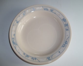 4 Corelle First of Spring Rimmed Cereal Bowls