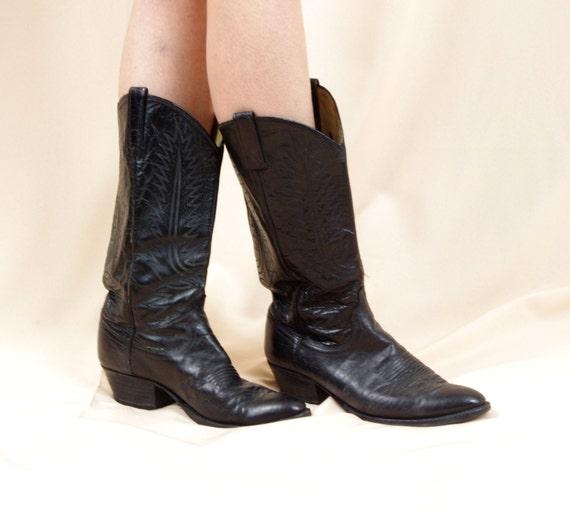 mens dan post cowboy boots black cowboy boots country