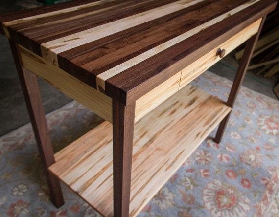 butcher block kitchen island table 20 x 40 x