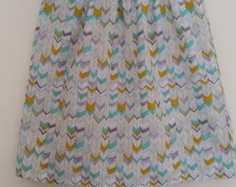 Elastic Waist Skirt - Organic Cotton S