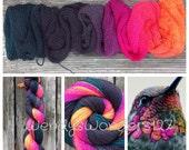 Hand Dyed Yarn, Gradient Yarn, Fingering/Sock Weight Yarn, Pre-Ordered Listing