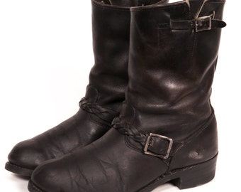 Men's ENGINEER BOOTS Size 10 W