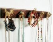 Animal key rack, Animal Jewelry Organizer, jewelry holder, animal head hooks, moose, giraffe, zebra, leopard, camel