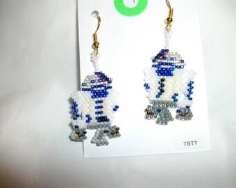 Star Wars R2D2 Earrings  O