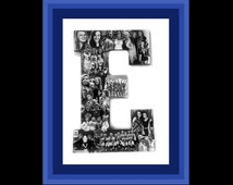 Cheerleader Photo Collage, Girls Cheerleading Squad Photo Gift, Photomontage for Coach, Going Away Photo Gift