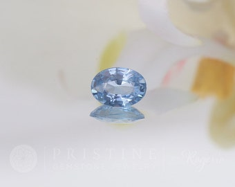 Natural Ceylon Blue Sapphire Oval Shape Fine Quality Loose Gemstone for Engagement Ring Wedding Anniversary Ring