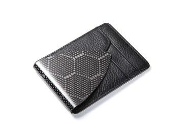 M3 Carbon Fiber Leather Wallet