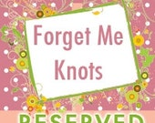 Reserved Listing for Alyssa Lindley