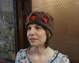 Fleece Headband,Head Wear,Ear Warmer,Ear Muff,Ski Band,by Nine Muses Of Crete