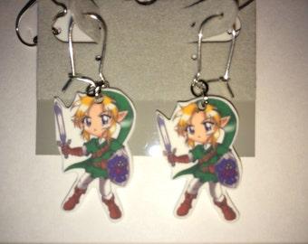Link - Legend of Zelda Earring Set