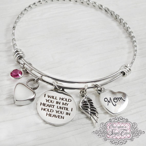 Cremation jewelry urn cremation bracelet loss of mother for Father daughter cremation jewelry