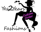 CUSTOM ORDER for Charmisa: Bolero Vest