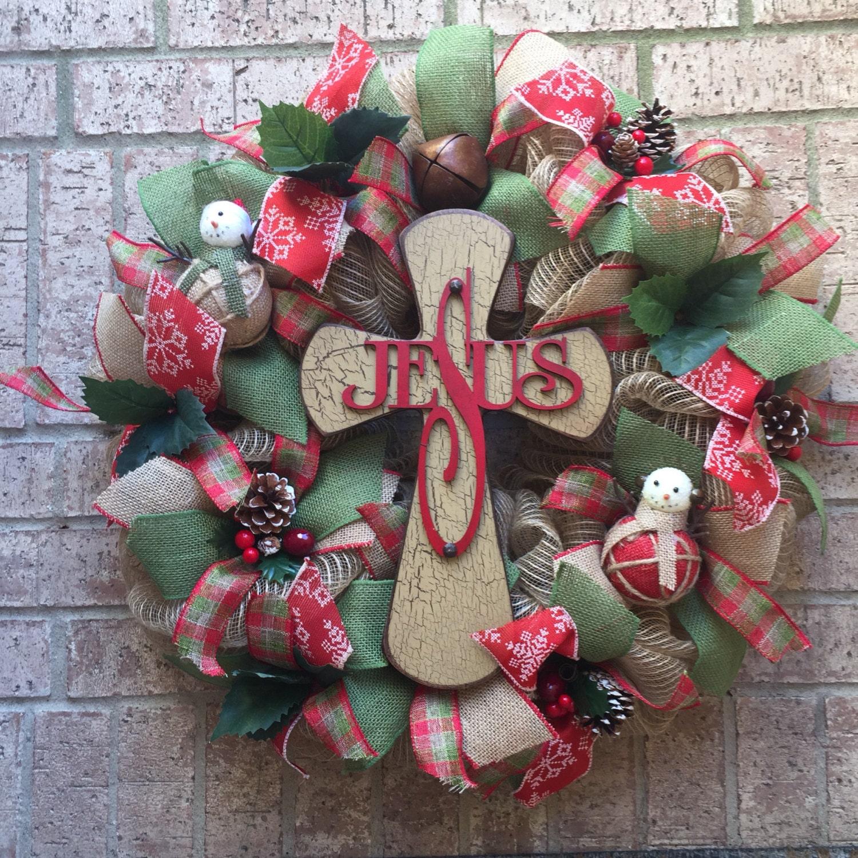 Deco Mesh Christmas Tree Wreath: Deco Mesh Christmas Tree Wreath Christmas By SignsBYDebbieHess