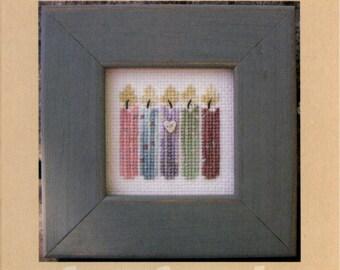 SamSarah Design Studio: Happy Birthday! - a Pearls Cross Stitch Pattern