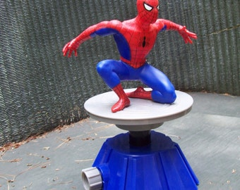 Spiderman water sprinkler, Marvel toy