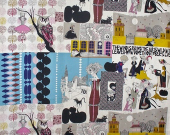 Alexander Henry, A Ghastlie Project, Something Ghastlie This Way Comes,  Halloween Fabric, By the Yard