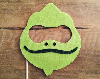 Chameleon Mask Prop | Pascal Prop | Rapunzel Prop