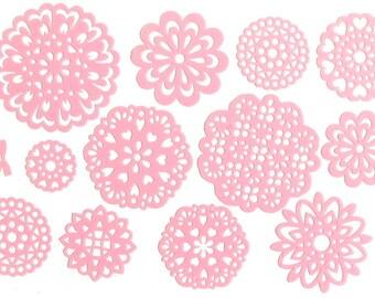 Lace Doilies Sticker Set