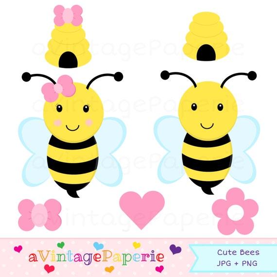 733b018fd1e58c Bebek Girly Bumble Bee Clip Art: Bumble Bee Clipart // Bumble Bee Clip Art /