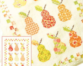 Mini Canned Pears Quilt Pattern,FTQ 992, by Moda's Fig Tree Quilts