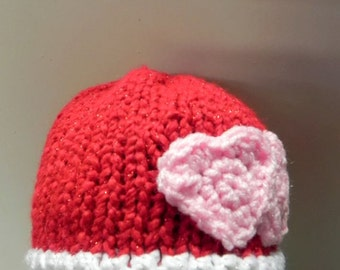 Knit Newborn Hat INVENTORY REDUCTION SALE Ready to Ship
