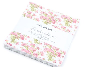 Bespoke Blooms charm pack by Brenda Riddle moda fabrics