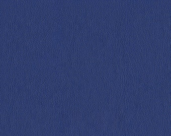 Soft metallic Faux Leather with slight shine.  Light, Stylish Faux Leather Upholstery Fabric - Color:  Frost Royal - per yard