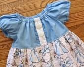 Spring 2016 Girl's Toddlers Cinderella Peasant Dress