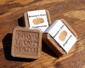 Goats Milk Soap, Gingersnap, 2 oz bar, Cold Process Soap, Christmas Soap, Cookie Soap, Soap, Ginger Soap, Clove Soap, Gingerbread Soap,