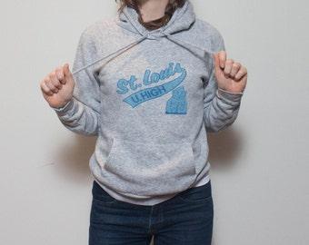 SML | St. Louis U. High Gray Hoodie Sweatshirt