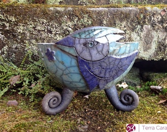 Raku Bowl Ceramic Cup Dish