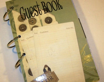 Guest Book Birthday Sign in Book Advice Book Home Guest Book
