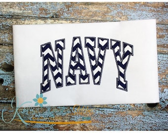 Navy Arched