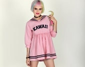 KAWAII   Baby Pink Anime Sailor Dress // Free Shipping!