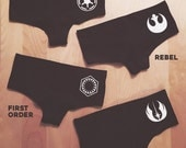 New Star Wars inspired Undies by So Effing Cute. Made in USA