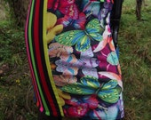 rainbow butterfly explosion lolllipop lycra skirt uk size 12 14
