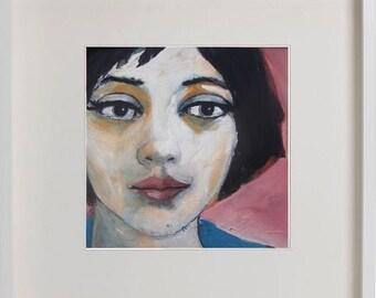 Framed Faces # 09 - 10/05