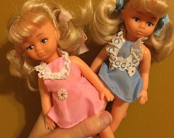 Precious Playmates dolls pair