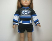 "Custom Detailed 18"" Doll Cheer Miniature Uniform Set"