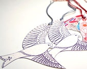 Flying Bird Gift Tags