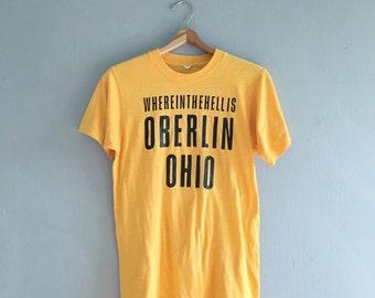Vintage 80s Oberlin Tee