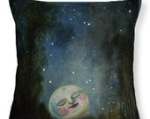 Decorative Pillow Accent Pillow Cushion Moon Stars Romantic Kiss Home Decor